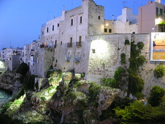 Polignano a Mare at Night