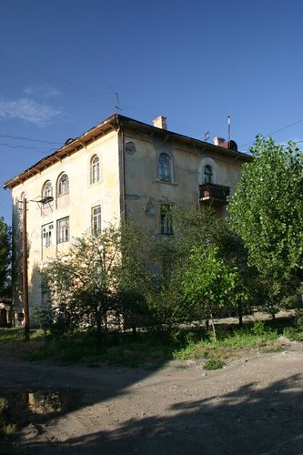 Georgian Sovjet-era house...