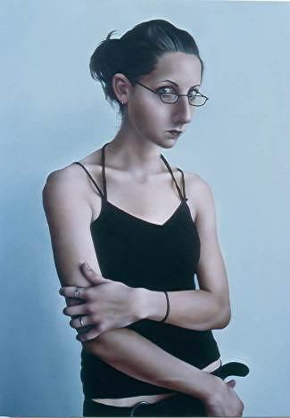 Rebel Child, 2006, oil on canvas.