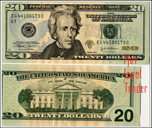 20 dollar bill back. old 100 dollar bill back.