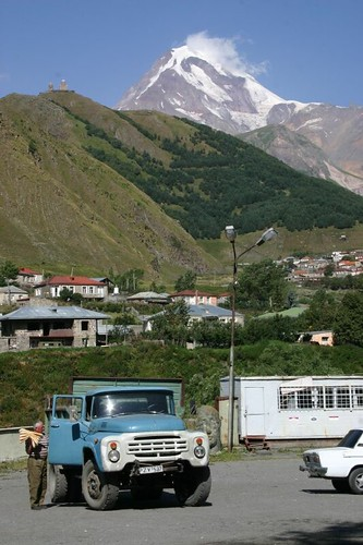 Stunning views from Kazbegi town...