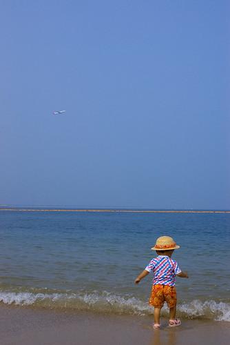 Beach & Plane