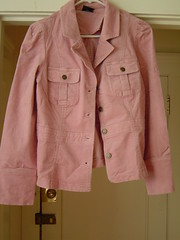 Pink Blazer before