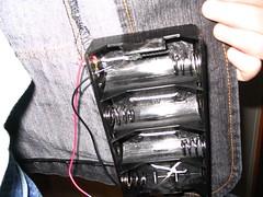 Left Battery Holder