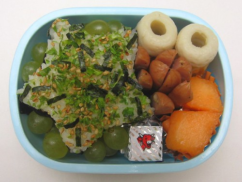 Star onigiri lunch for toddler お弁当