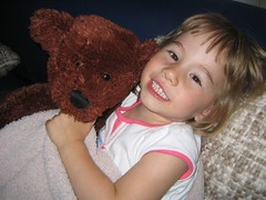 Emily and Bear - BFF