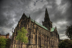 glasgow cathedral hdr photo by limowreck666