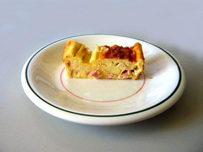 Ham + Cheese Souffle