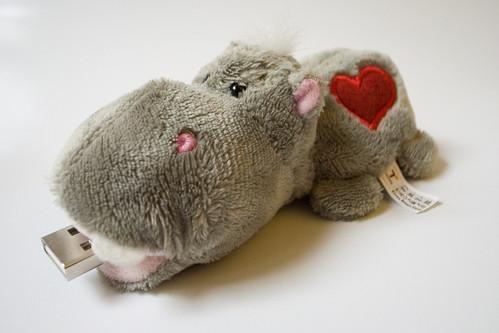 RFID hippo (Tmoney)