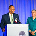 Arnold Randall and Honoree Toni Preckwinkle, Keynote Speaker Robin Wall Kimmerer, Openlands 2015 Annual Luncheon, Image: Chris Murphy