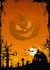 Affiche Halloween Citrouille