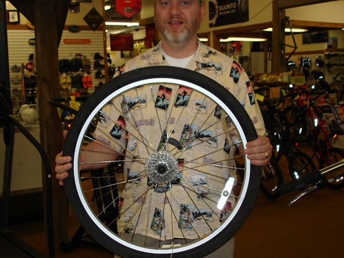New Bike Wheel