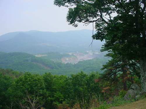 The Quarry Overlook, Blue Ridge Parkway