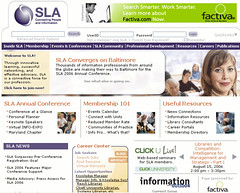 SLA New Home Page