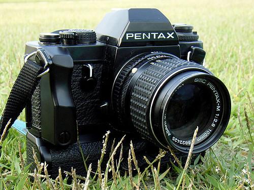 Pentax LX+smc Pentax-M100mm/f2.8
