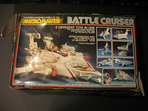 Part of my haul: Vintage Micronauts Battle Cruiser