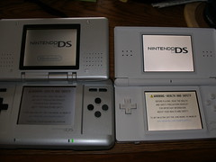 Nintendo DS Fat vs Nintendo DS Lite - Title Screen