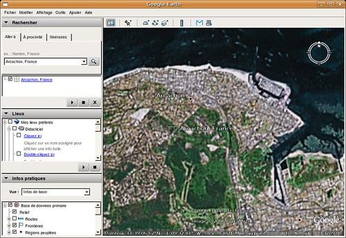 Google Earth - linux