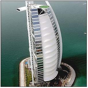 Burj al Arab Hotel - Helipad - Tennis 1