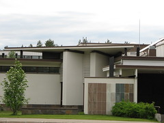 Library, Sodankyl�, Lapland