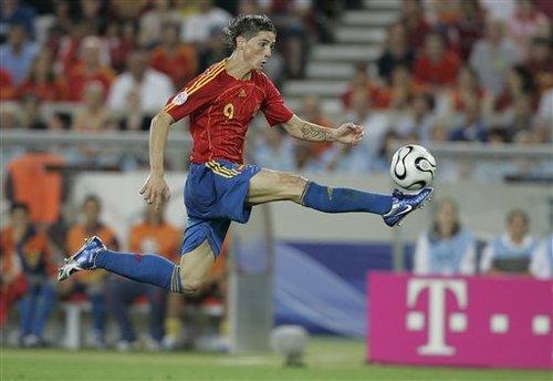 Fernando Torres, Spain