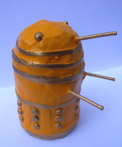 Yellow and Gold Dalek