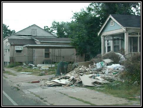 Remains of Katrina Destruction