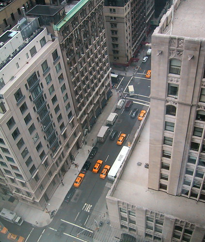 Madison Ave from Above
