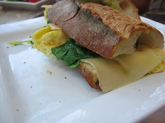 wasabi's omlette sandwich