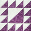 purple sawtooth square