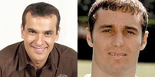 Parecido razonable entre Luis Merlo (Mauri) e Ivan Helguera