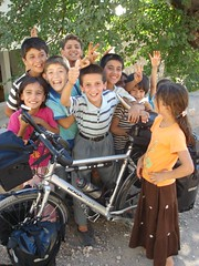 Kids in village on way to Narince, eastern Turkey