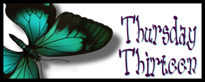 Thursday Thirteen Butterfly Banner