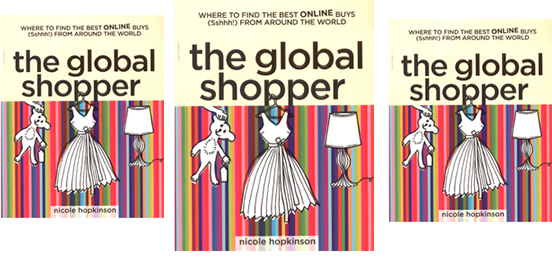 Hot New Book: The Global Shopper by Nicole Hopkinson