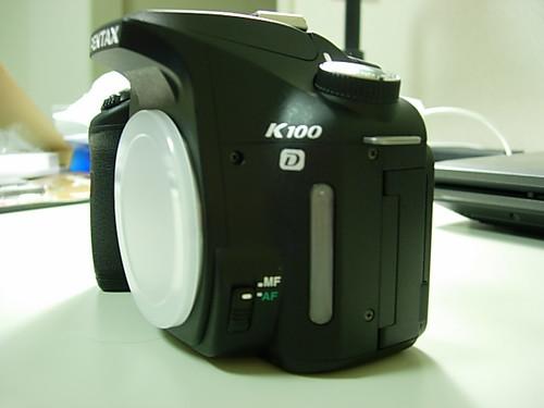 在東京新入手的K100D