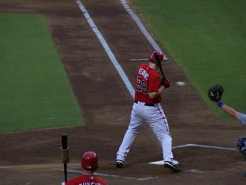 Kearns at the plate