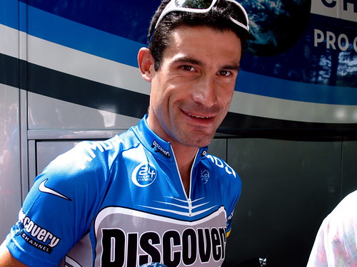 George Hincapie, All Hopped-Up on Charm Enhancers in Le Creusot