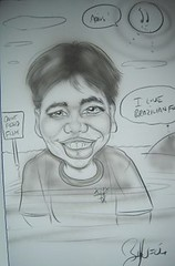 Caricature at Agile 2006