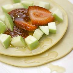 spelt pancakes for breakfast
