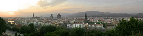Florence, Italy (sunset)
