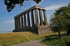 National monument at Calton Hill, Edinburgh