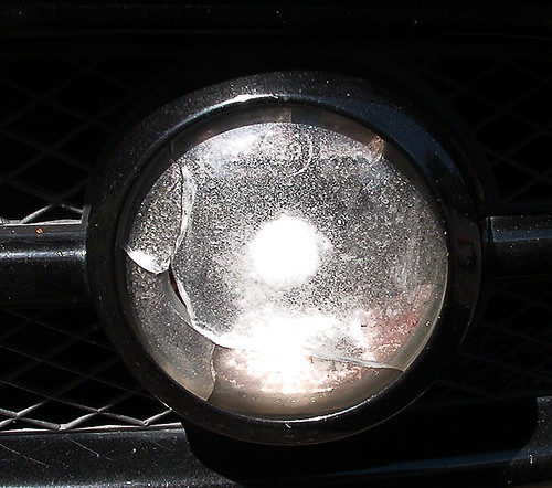 New Beetle fog light cover replacement