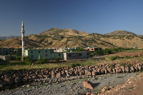 Village between Silvan and Bitlis...