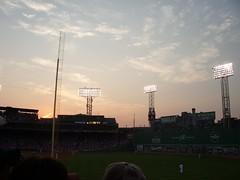 Fenway at dusk