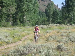 mountain biking sun valley ali2