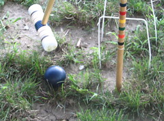 A little croquet?