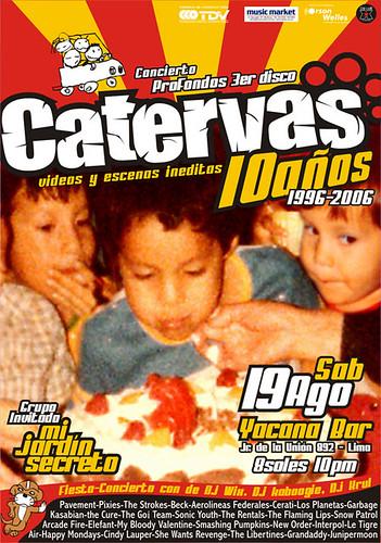 Catervas 10 años + MJS