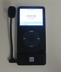 XtremeMac MicroMemo Microphone Plugin for iPod Video