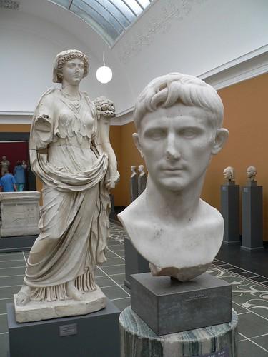 Livia og Augustus