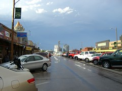 Wall Drug after the rain